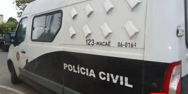 POLICIA CIVIL OPERAÇÃO VAN MACAE