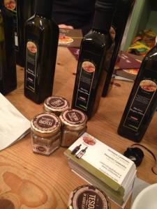 Olive oil tasting in London