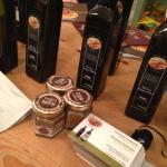 Olive oil tasting in London