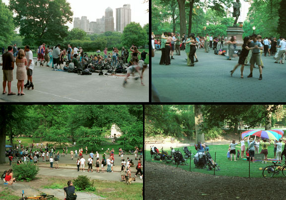 Central Park Compared To Golden Gate Park