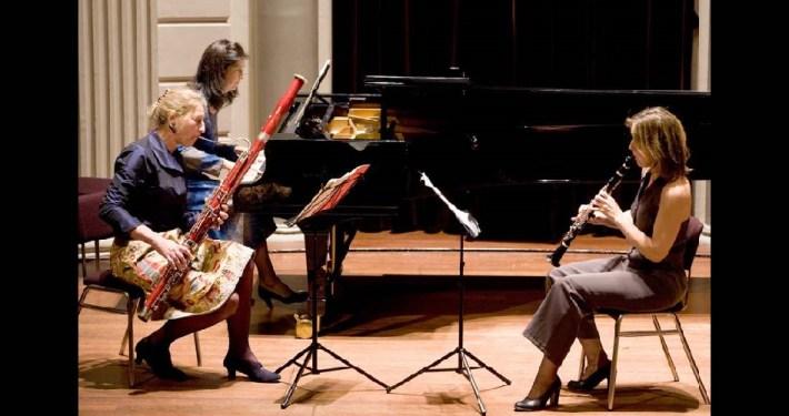 Ella Broekstra in het Freling Trio