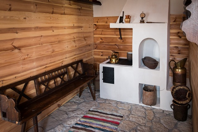 old-kitchen-furniture-in-old-cottage