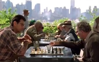 film with a chess game