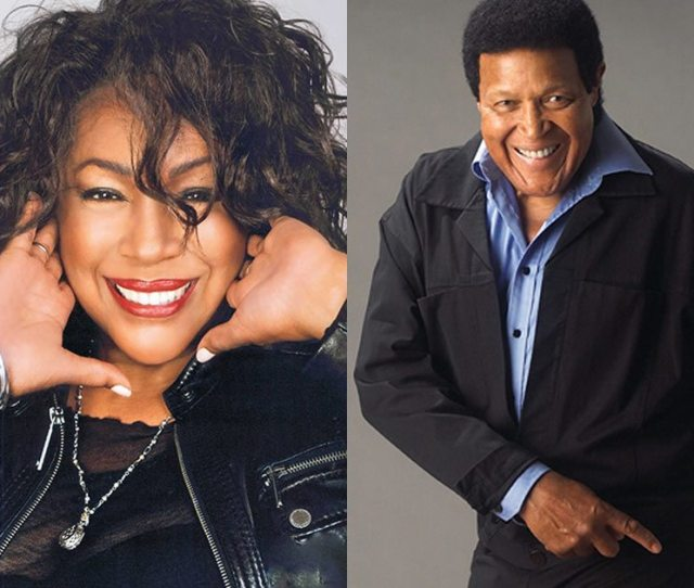 Mary Wilson And Chubby Checker