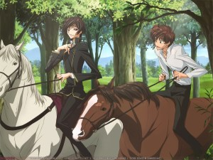 Also one of the most epic bromances in anime history.