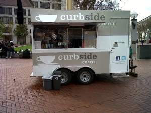 Curbside Coffee - Kiosk Wrap