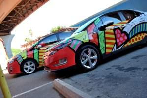 Chevy Volt Car Wraps