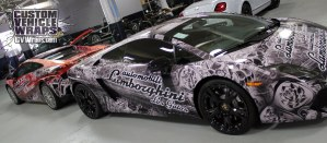 Lamborghini Car Wrap