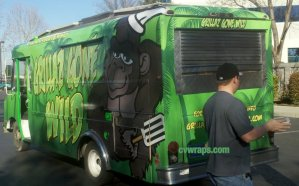 Grillaz Food Truck Wrap