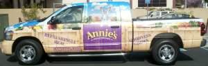 Annie's Organic - Truck Wrap