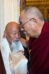 Our Director With The Dalai Lama