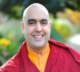 Photo of Gelong Thubten courtesy of Tony Bartholomew