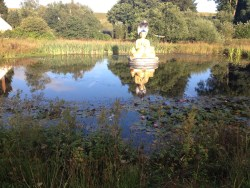 An evening stroll – Day two of my retreat at Samye Ling