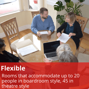 Room Hire Front Room Flexible