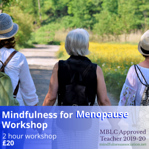 Mindfulness for Menopause