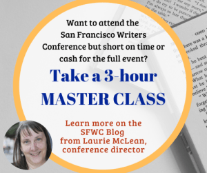 Open to public writing master classes San francisco writers conference