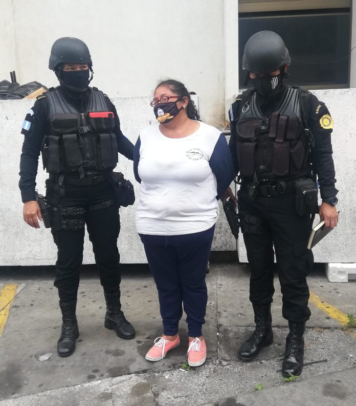 Detenida por narcomenudeo