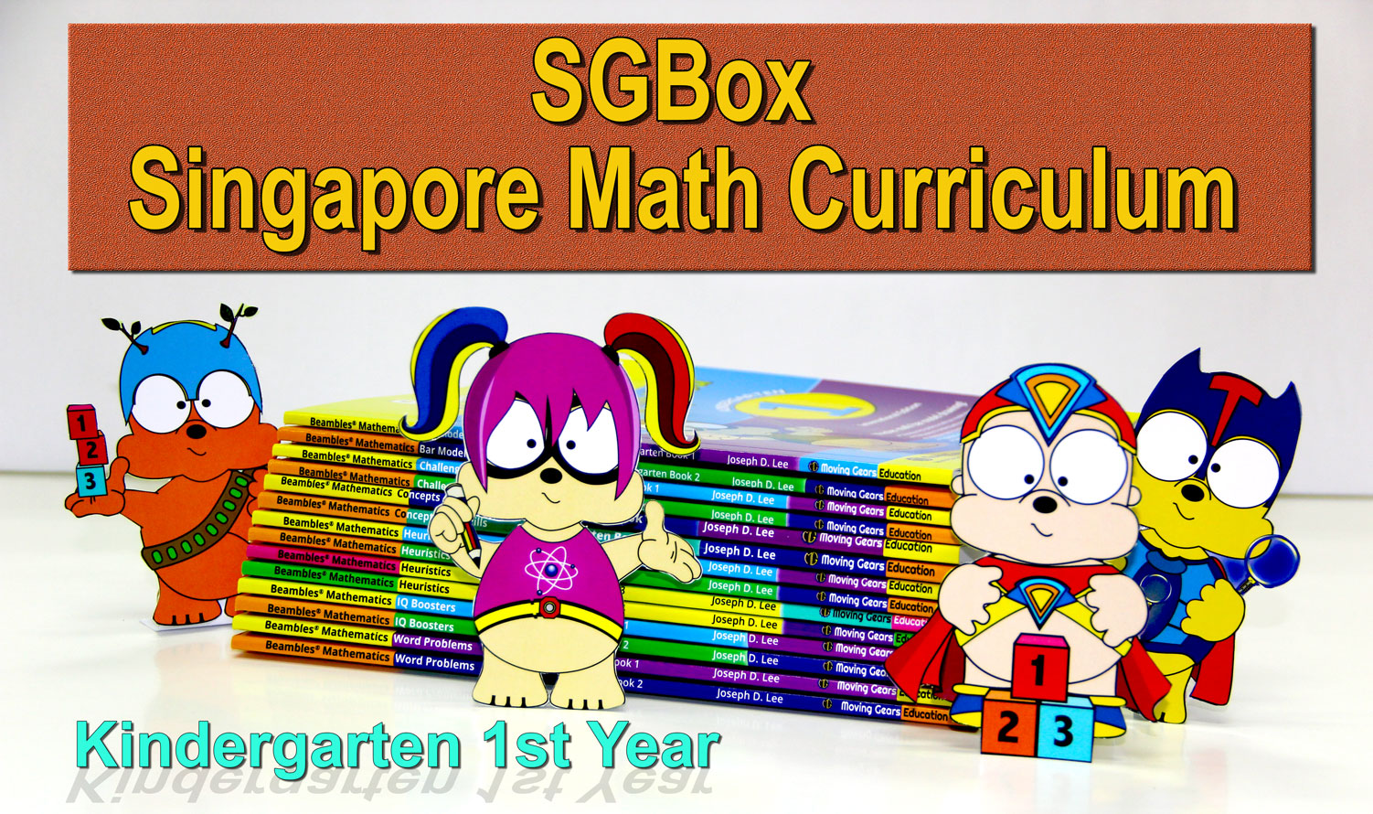 Sgbox Singapore Math Curriculum For Kindergarten Preschool First Year