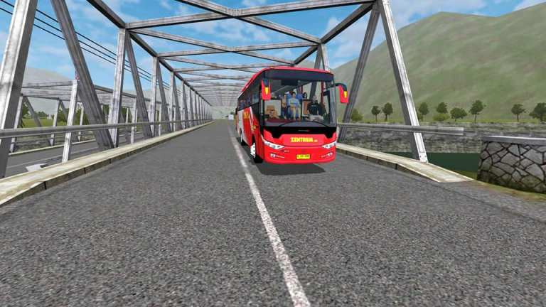 Scorpion X Bus Mod for Bus Simulator Indonesia