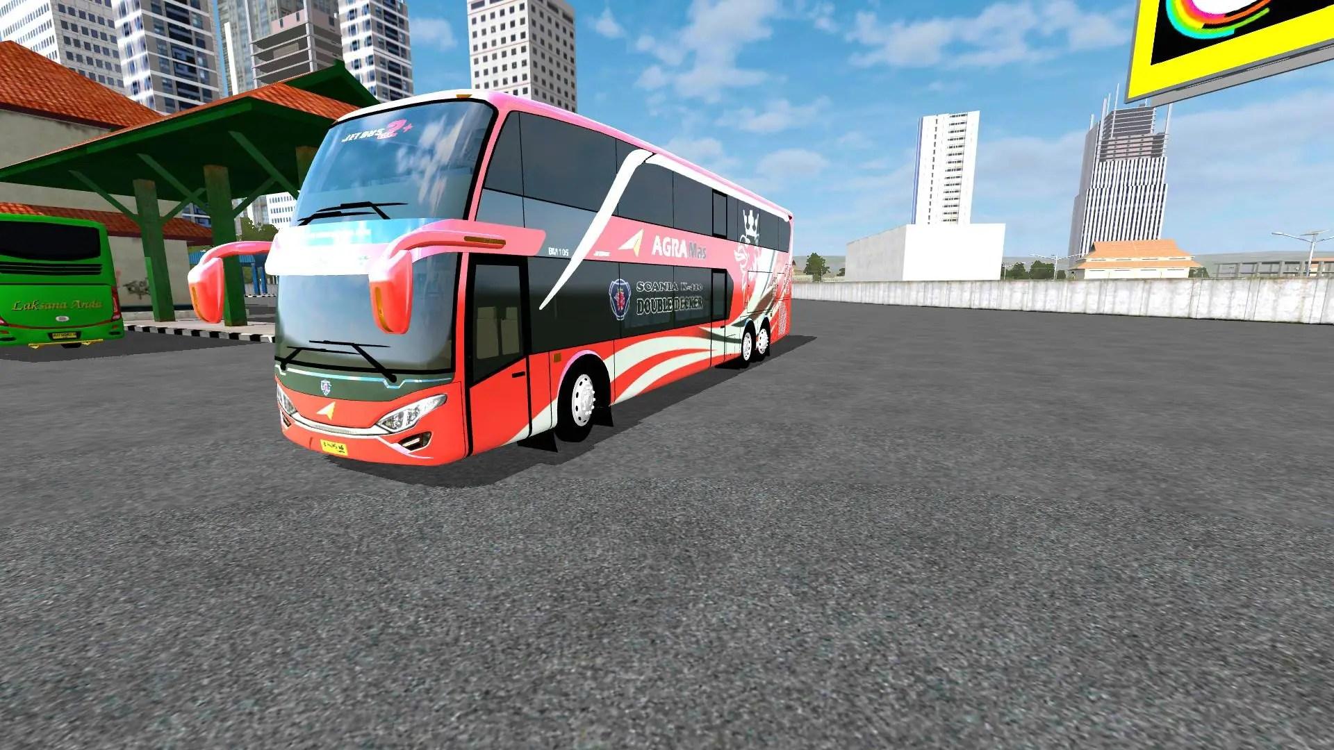 Download Jetbus2+ SDD Doubel Decker Vehicle Mod for Bus Simulator Indonesia, , Bus Mod, Bus Simulator Indonesia Mod, BUSSID mod, Mod, Vehicle Mod