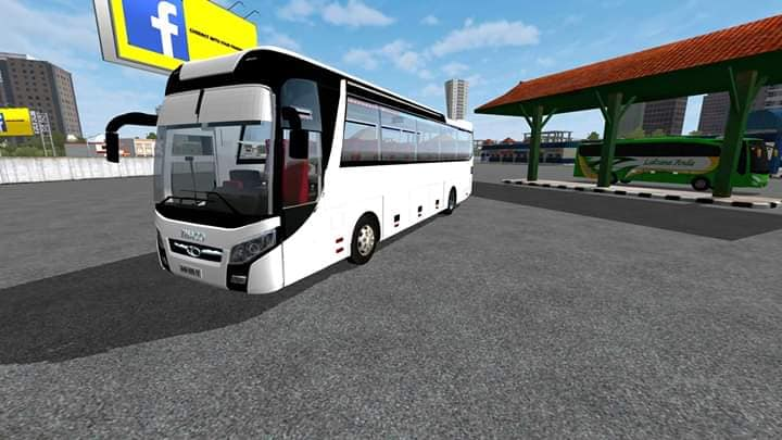 Thaco Bus Mod for Bus Simulator Indonesia