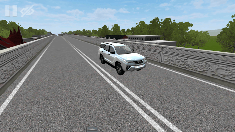 Toyota Fortune Vehicle Mod for Bus Simulator Indonesia