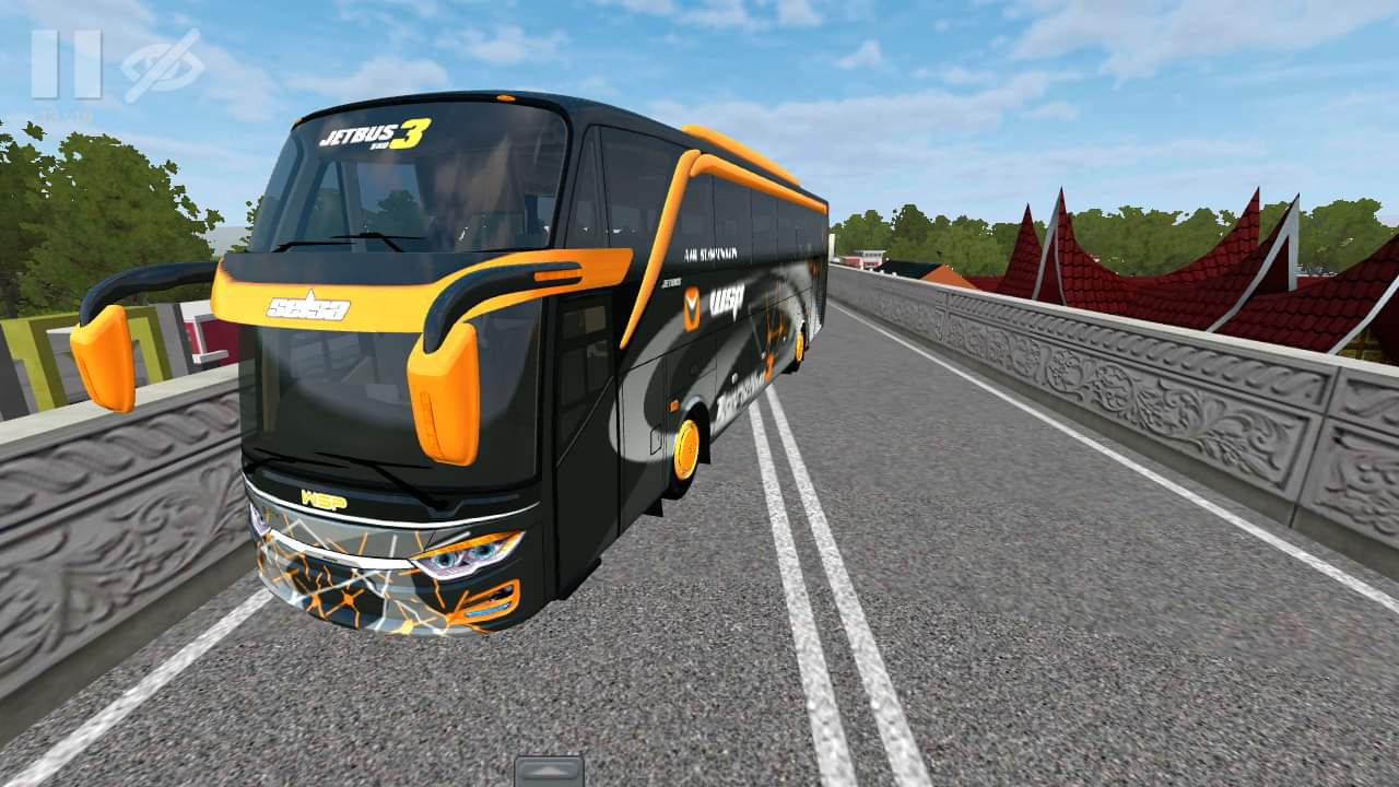 Download JB3 SHD Bus Mod for Bus Simulator Indonesia, , BUSSID Bus Mod, BUSSID Vehicle Mod, JB3 Mod, JB3 SHD bus Mod, WSPMods