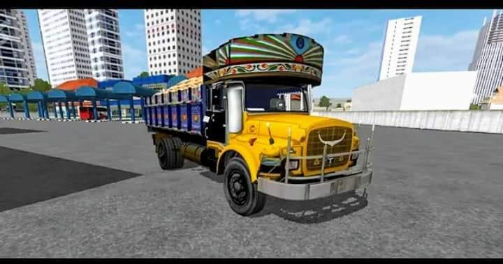 TATA Truck Mod for Bus Simulator Indonesia