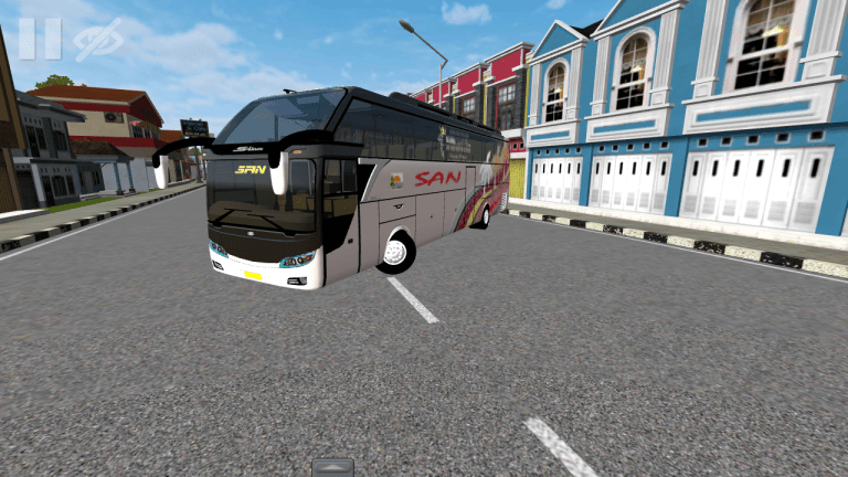 Scania K310 Bus Mod for Bus Simulator Indonesia