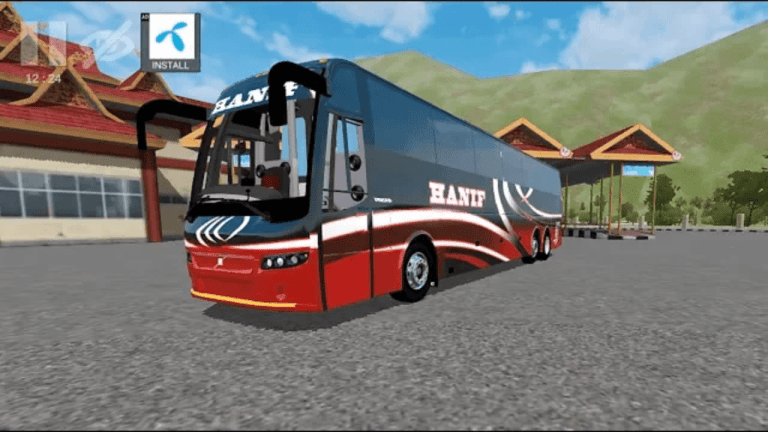 Volvo B9R Bus Mod for Bus Simulator Indonesia