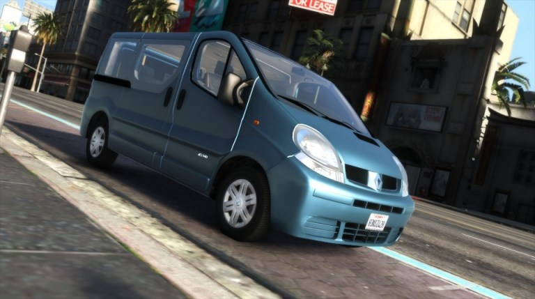 Renault Trafic II.1 Generation [Add-On | Extras] for GTAV