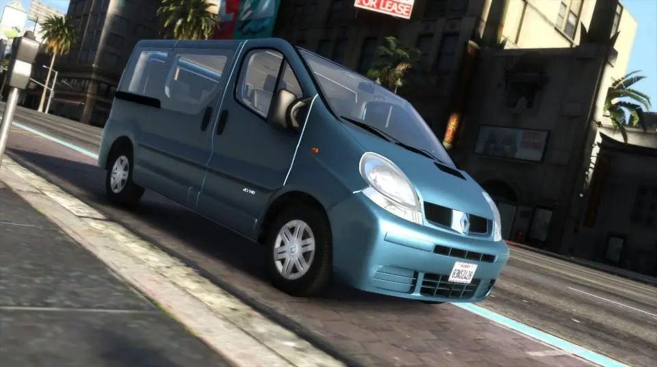 Download Renault Trafic II.1 Generation [Add-On | Extras] for GTAV, , Gaming News, Gaming Update, gta Mods, gta V, gta V Mods, Mod, SGCArena