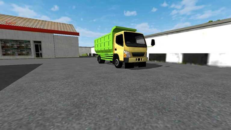 Canter Truck Mod for Bus Simulator Indonesia