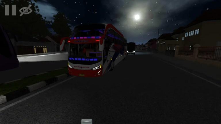 Evolander V2 Bus Mod for Bus Simulator Indonesia