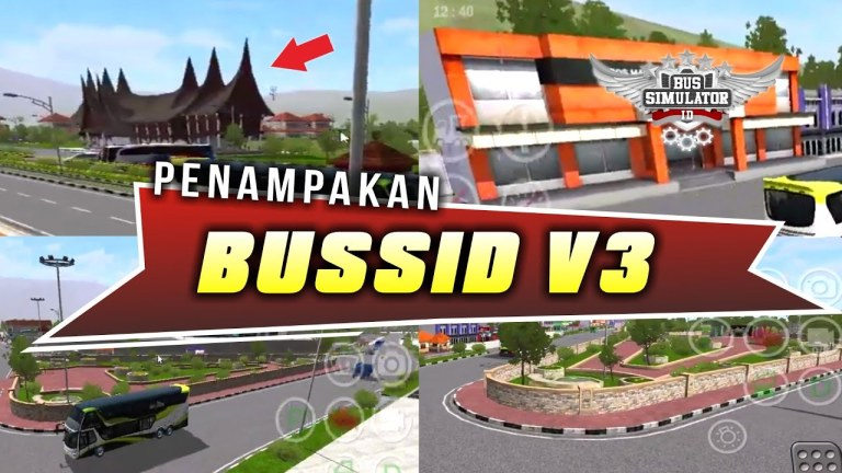 Bus Simulator Indonesia New Upadate V3