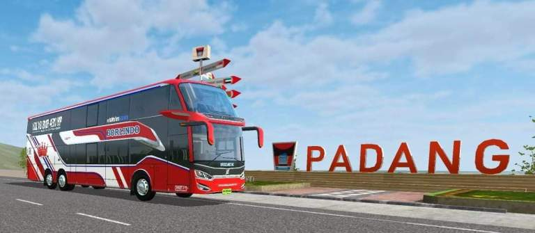 SR2 DD V2 Bus Mod for Bus Simulator Indonesia