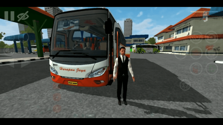 JetBusHD With Crew Mod for Bus Simulator Indonesia