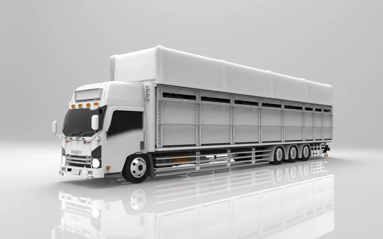 ISUZU NMR TRIBAL Mod for Bus Simulator Indonesia