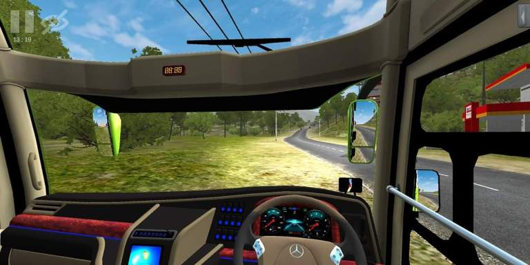 JetBus2 Update  Bus Mod for Bus Simulator Indonesia