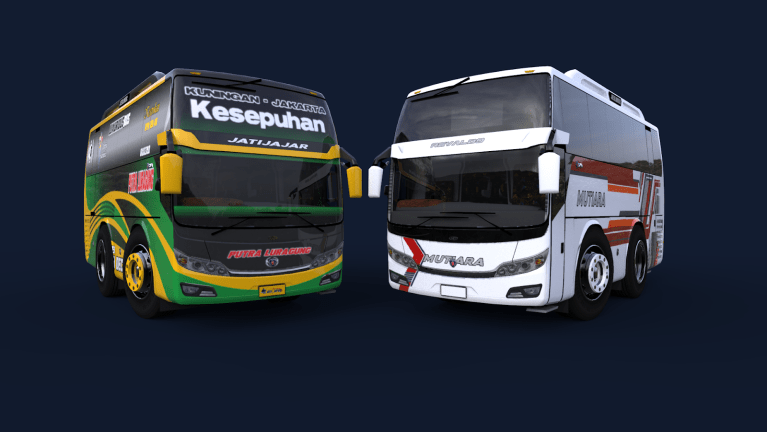 Jetliner edit Baby Bus Mod for Bus Simulator Indonesia