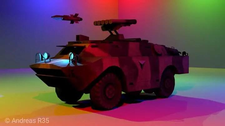 Panzer AM Mod for Bus Simulator Indonesia