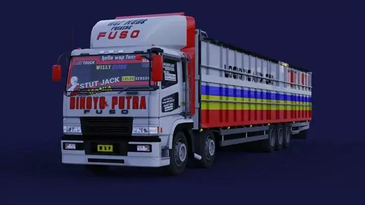 Download FUSO SUPER GREAT TRIBALL Truck Mod for BUSSID, FUSO SUPER GREAT TRIBALL, Bus Simulator Indonesia Mod, BUSSID mod, FUSO SUPER GREAT TRIBALL, FUSO SUPER GREAT TRIBALL Mod for BUSSID, Fuso Truck, Fuso Truck Mod for BUSSID, Mod for BUSSID, SGCArena, Truck Mod for BUSSID, Vehicle Mod, WSPMods