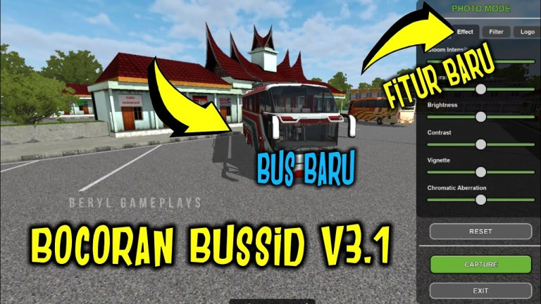 Bus Simulator Indonesia BUSSID V3.1 Preview