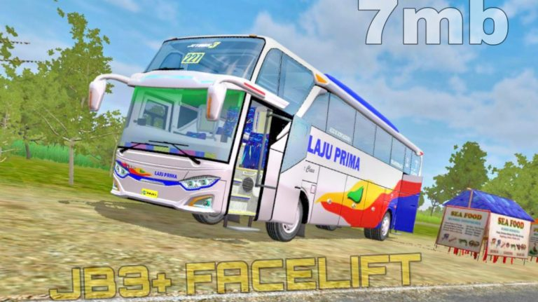 JB3+ Facelift Bus Mod for Bus Simulator Indonesia
