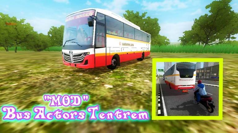 Actors Bus Mod for Bus Simulator Indonesia