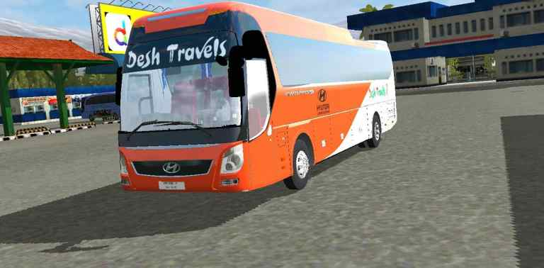 Hyundai Universe Update Mod for Bus Simulator Indonesia