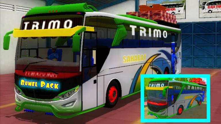 JB3 Bumel Voyeger Bus Mod for Bus Simulator Indonesia