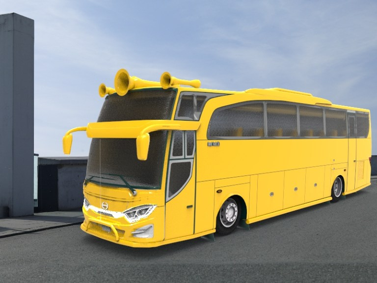 JBHD Bus Mod for Bus Simulator Indonesia