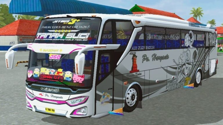 JetBus3+HDD Bus Mod for Bus Simulator Indonesia