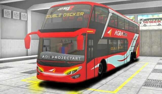 SDD Jb2 Hino AK Bus Mod for Bus Simulator Indonesia